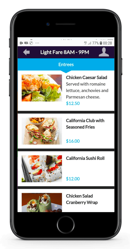 Mobile ordering 5