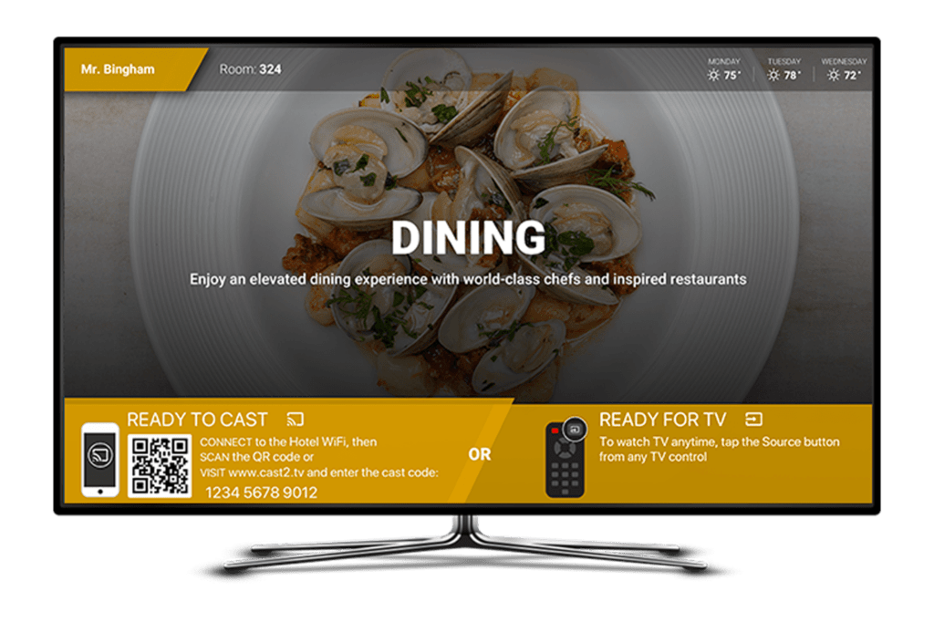 digital signage tv
