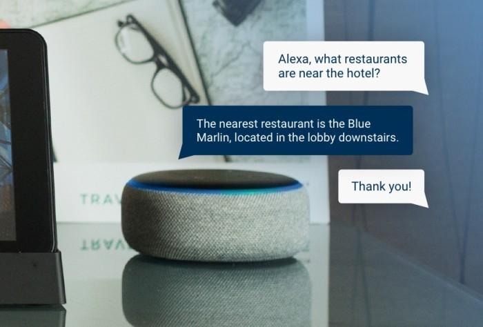HiGuest Alexa per Hotel